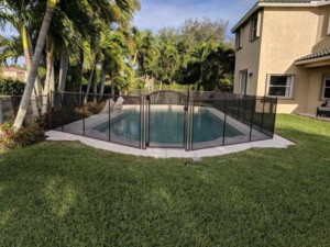 pool safety fence installer in Charlotte County