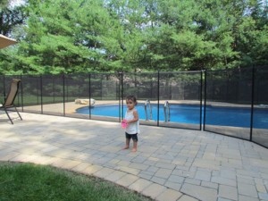 child pool safety fence