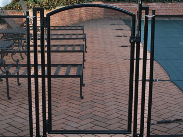 Life Saver Pool Fence Arched Pool Gate